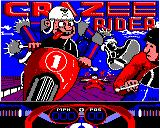 Crazee Rider BBC Micro Title screen
