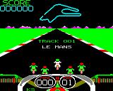 Crazee Rider BBC Micro Starting the race on the first track (standard version)