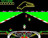 Crazee Rider BBC Micro The same track in the enhanced version