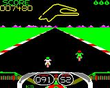 Crazee Rider BBC Micro When you hit an opponent, a green icon appears in the top right corner (enhanced version).