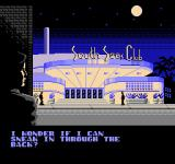 The Rocketeer NES Cliff arrives at the South Seas Club.