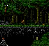 The Rocketeer NES Forest.