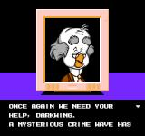 Disney's Darkwing Duck NES We need your help, Darkwing!