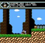 Disney's DuckTales 2 NES Scrooges talks about the legend of lost city.