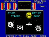 Cylon Attack ZX Spectrum Overview of the ships