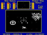 Cylon Attack ZX Spectrum Scouting space for enemies