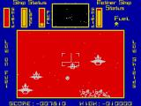 Cylon Attack ZX Spectrum Low on fuel and the shield