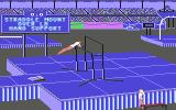 The Games: Summer Edition Commodore 64 Uneven Parallel Bars.