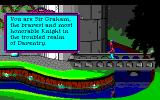 Roberta Williams' King's Quest I: Quest for the Crown Amiga Intro: You are Graham.