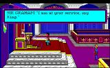 Roberta Williams' King's Quest I: Quest for the Crown Amiga Intro: Graham sees King Edward.