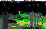 Roberta Williams' King's Quest I: Quest for the Crown Amiga Forest.