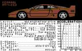 The Duel: Test Drive II Commodore 64 The Ferrari