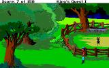 Roberta Williams' King's Quest I: Quest for the Crown Amiga Goat pen.
