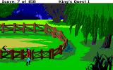 Roberta Williams' King's Quest I: Quest for the Crown Amiga Goat pen again.