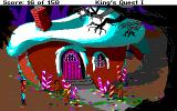 Roberta Williams' King's Quest I: Quest for the Crown Amiga Candy house - I want to eat it!
