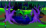 Roberta Williams' King's Quest I: Quest for the Crown Amiga Swamp.