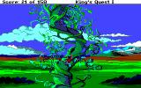 Roberta Williams' King's Quest I: Quest for the Crown Amiga Climbing up a beanstalk.