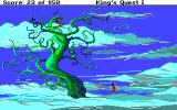 Roberta Williams' King's Quest I: Quest for the Crown Amiga At the top of the beanstalk.