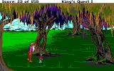 Roberta Williams' King's Quest I: Quest for the Crown Amiga A giant! Run!