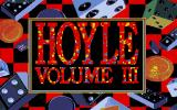Hoyle Official Book of Games: Volume 3 Amiga Title Screen.