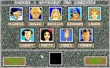 Hoyle Official Book of Games: Volume 3 Amiga Choose a character to play with - Sierra Good Guys