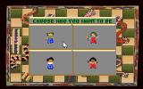 Hoyle: Official Book of Games - Volume 3 Amiga Snakes and Ladders - Choose your character to play as