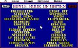 Hoyle: Official Book of Games - Volume 2: Solitaire Amiga Choose a game to play.