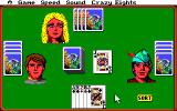 Hoyle Official Book of Games: Volume 1 Amiga Crazy Eights.