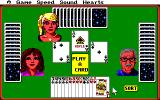 Hoyle Official Book of Games: Volume 1 Amiga Hearts - Play a card to finish the trick