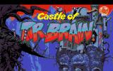 Castle of Dr. Brain Amiga Title Screen.