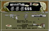 Airborne Ranger Amiga Pack supplies for the mission.