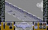 Airborne Ranger Amiga An enemy soldier is in the trench.