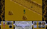 Airborne Ranger Amiga Making my way across the landscape.