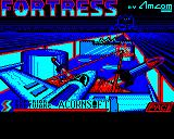 Fortress BBC Micro Title screen (Superior Software re-release)