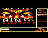 The Last Ninja BBC Micro Title screen