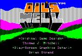Oil's Well Apple II Title screen