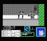 Death Wish 3 MSX I start with the rocket launcher.