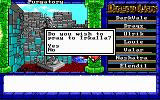 Dragon Wars DOS Praying to Irkalla