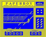 Paperboy BBC Micro Starting out