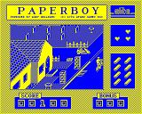 Paperboy BBC Micro Watch out for the vehicle