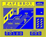 Paperboy BBC Micro Is that a dog or a rat?