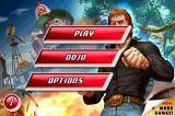 Chuck Norris: Bring on the Pain iPhone Main Menu