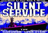 Silent Service Apple II Title screen