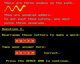 Dinosaur Discovery BBC Micro These Anagram Adders can only be passed if you solve the puzzles.