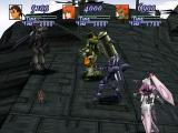 Xenogears PlayStation Battle at the top of the Goliath airship