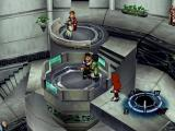 Xenogears PlayStation Lift in the Sky City of Shevat