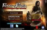 Prince of Persia: The Forgotten Sands Flash Game Browser Title Screen / Main Menu (@kongregate)