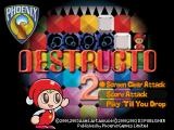 Destructo 2 PlayStation Single player modes