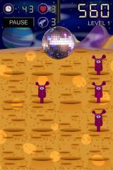 Spazzle Gold iPhone Aliens love disco-music.