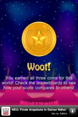 Spazzle Gold iPhone Earned enough points for the next coin.